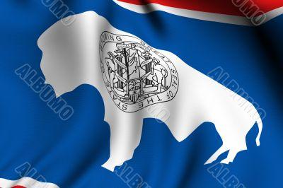 Rendered Wyoming Flag