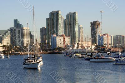 San Diego,CA skyline