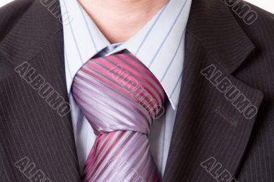 Closeup of a business man