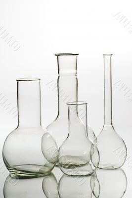 Glass laboratory equipment