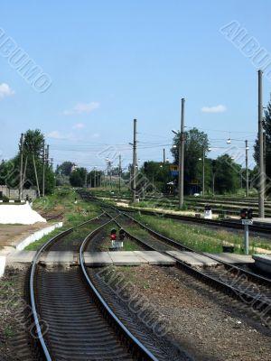 railway, railway pointer