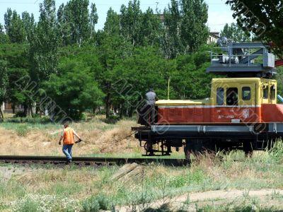 railway, repair
