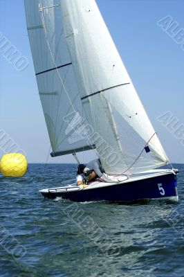 Start of sailing race / yachting