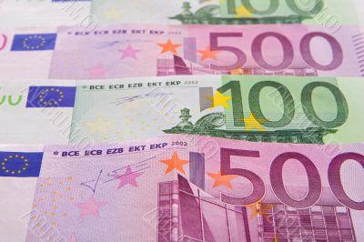 Bills in horizontal