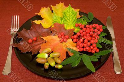 Autumn menu.