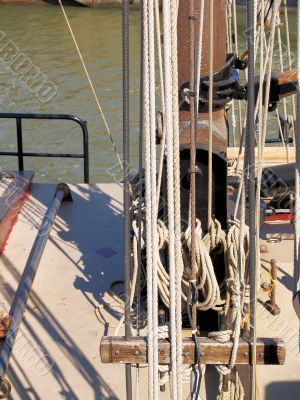 Rope and a mast