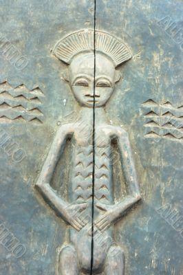 African bas-relief