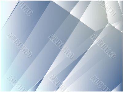 Angular crystal abstract design