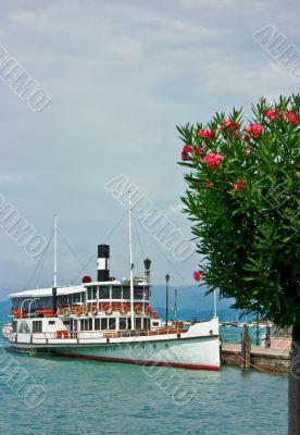 Ferry boat in Desenzano