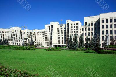 Minsk government palace