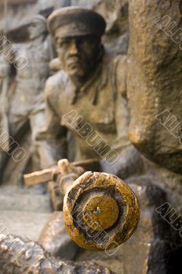 Soldier statue