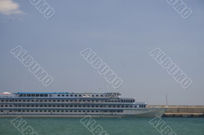 Small cruise ship