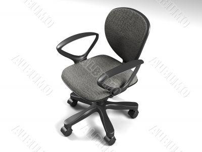three dimensional office chair