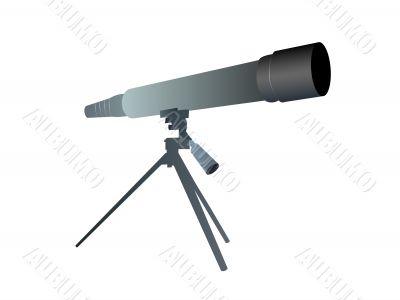 telescope in shop