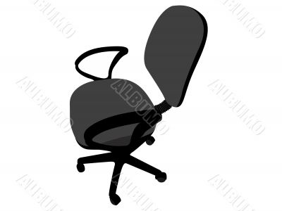 rotating office chair