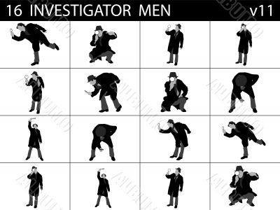 investigating men