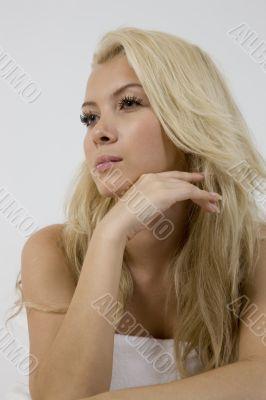 young beautiful female posing