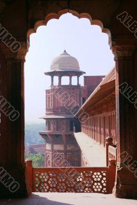 Agra fort arc