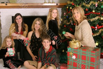 merry christmas family gifts