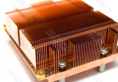 Radiator of a computer cooler