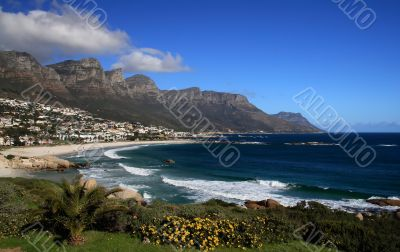 Beach near Twelve Apostles Mountains
