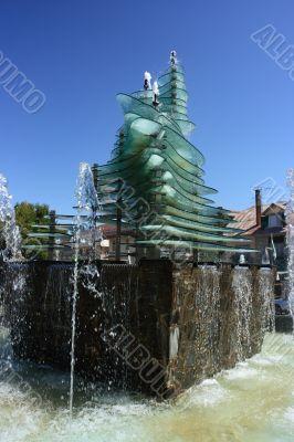 Fountain of Gambarie d`Aspromonte