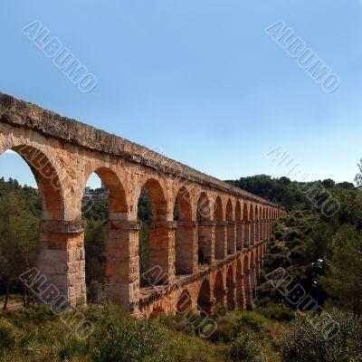Pont del Diable in Tarragona, Spain
