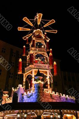 Christmas fair market in Kassel, Germany