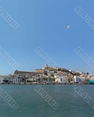 Ibiza - Eivissa Marina, Dalt Vila & moon