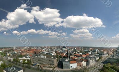 Skyline of Hannover, Germany