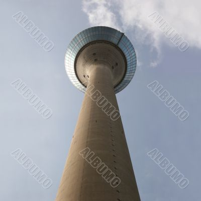 The television tower of Düsseldorf, Germany