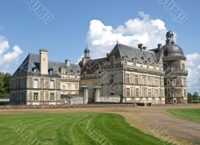 The French castle  transformed into a museum
