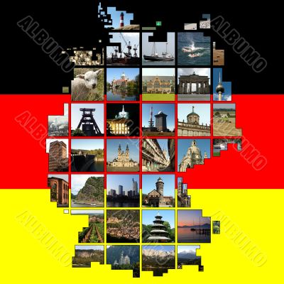 Germany in squares