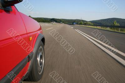 High-speed on a german Autobahn