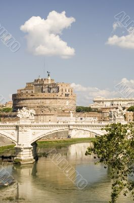 Bridge and Castle Sant Angelo