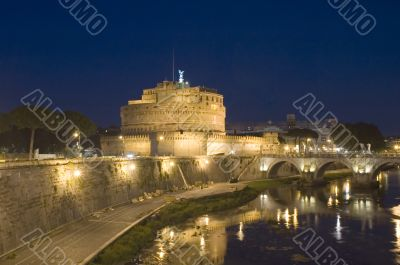 Castle Sant Angelo in Rome