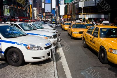 Times Square Vehicles