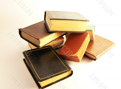 Stack of miniature books
