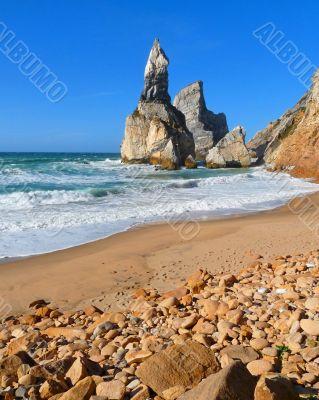 Rocky Beach Scene