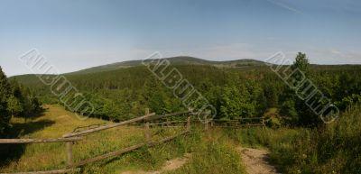 mount Brocken in the national park Harz, Germany
