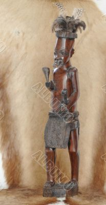 African Soldier.