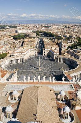 Rome Saint Peter Square