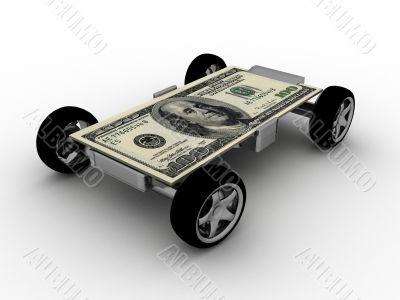 money on wheels