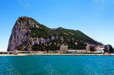 Gibraltar - the most south point of Europe