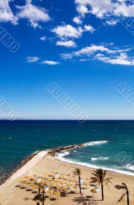 View of Costa Del Sol beach