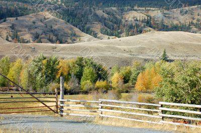 Ranch in autumn