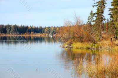 Lakeview in autumn