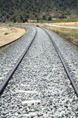 rail train curve