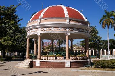 Rotunda  in Cienfuegos city centre, Cuba