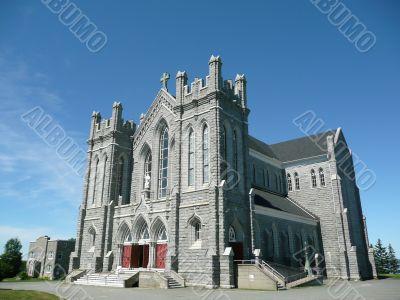 The grey church
